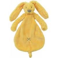 Happy horse - plush toy Richie 25 см. yellow