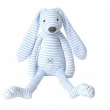 Happy horse Rabbit Reece plush toy 28 cm. blue