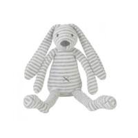 Happy horse Rabbit Reece plush toy 28 cm. grey
