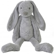 Happy horse - plush toy 58 cm. light grey