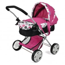 Hauck Doll Stroller Diana Pram Pink Dot