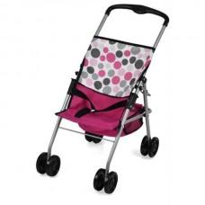 Hauck Doll Stroller Traveller Sun Pink Dot