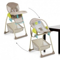 Hauck 2 in 1 Sit'n Relax Multi dots sand