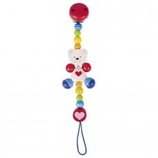 Heimess Wooden Dummy Chain with Heart and Bear