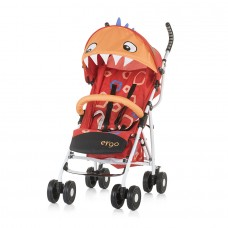 Chipolino Ergo Baby Stroller, red  baby dragon