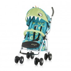 Chipolino Бебешка количка Ерго 6+, синьо драконче