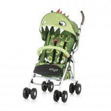 Chipolino Ergo Baby Stroller, green baby dragon