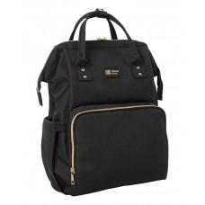 Kikka Boo Siena Mama Bag, Black and Gold