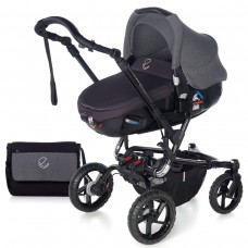 Jane Baby stroller Crosswalk Matrix Jet Black