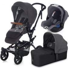 Jane Baby stroller Crosswalk + Micro + Koos iSize Jet Black