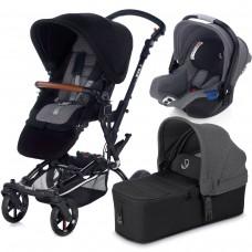 Jane Baby stroller 3 in 1 Epic Micro Koos Isize  Jet Black