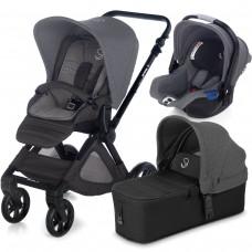 Jane Baby stroller Muum Micro Koos I-size Jet Black 3 in 1