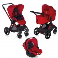 Jane Baby stroller Muum Micro Koos I-size Red 3 in 1