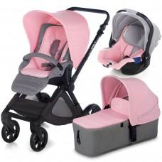 Jane Baby stroller Muum Micro Koos I-size Swan 3 in 1