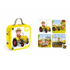 Janod 4 puzzles Peter's tractor