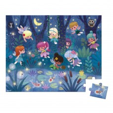 Janod Puzzle Fairies and waterlilies