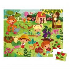Janod Puzzle Garden