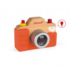 Janod Wooden toy Sound camera