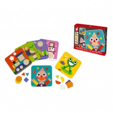 Janod Wooden game I am learning shapes