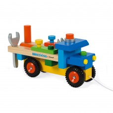 Janod Wooden Truck with tools