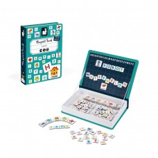 Janod Magnetic book English alphabet