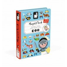 Janod Magnetic book Magnetic costumes for boy
