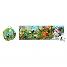 Janod Panoramic puzzle 4 seasons