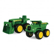 John Deere Sandbox Tractor and Dump truck Set