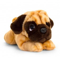 Keel Toys Плюшено куче Бебе Мопс 32 см