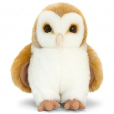 Keel Toys Owl beige and white