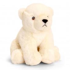 Keel Toys Екологична плюшена играчка Полярна мечка 18 см