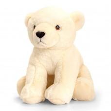 Keel Toys Екологична плюшена играчка Полярна мечка 25 см