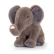 Keel Toys Екологична плюшена играчка Слон 25 см
