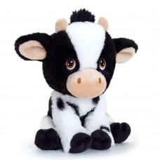 Keel Toys Екологична плюшена играчка Крава 18 см