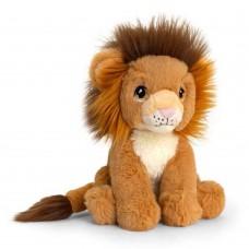 Keel Toys Екологична плюшена играчка Лъв 18 см