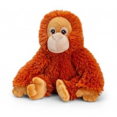 Keel Toys Екологична плюшена играчка Орангутан 18 см