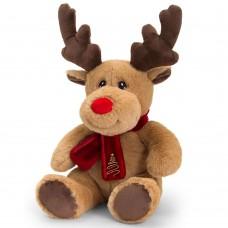 Keel Toys Reindeer with Scarf