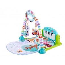 Kikka Boo Baby Mat and Activity Gym Piano, blue