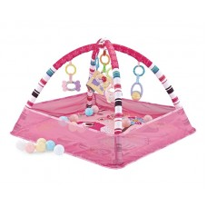 Kikka Boo Baby Ball Playmat, pink Birds