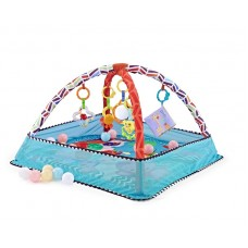 Kikka Boo Baby Ball Playmat, blue Animals