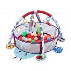 Kikka Boo Baby Mat and Activity Gym with 30 Balls, Ladybug