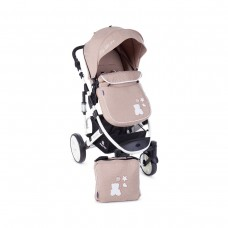 Kikka Boo Beloved  Baby Stroller, 2 in 1 Beige