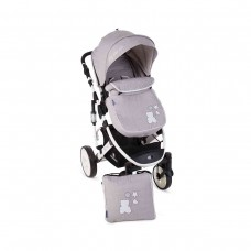 Kikka Boo Beloved  Baby Stroller, 2 in 1 Light Grey