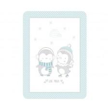 Kikka Boo Baby blanket Love Pingus 80/110, blue