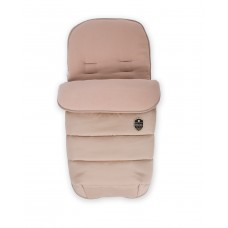 Kikka Boo Footmuff for stroller Embroidered beige