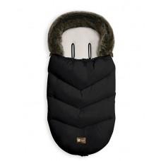 Kikka Boo Footmuff for stroller Luxury Fur, black