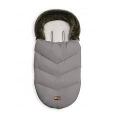 Kikka Boo Footmuff for stroller Luxury Fur, grey