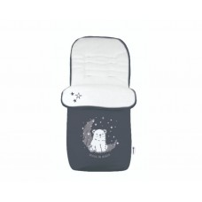 Kikka Boo Footmuff for stroller Polar Bear navy