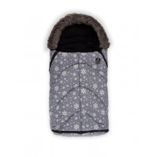 Kikka Boo Footmuff for stroller Shiny Nylon Snow Flakes