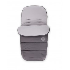 Kikka Boo Footmuff for stroller Embroidered dark grey